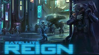 Состоялся релиз киберпанковой тактики Satellite Reign