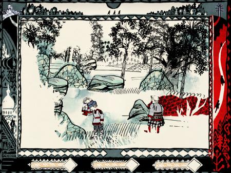 Forest of Sleep — приключенческая игра по мотивам русских сказок