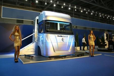 «КАМАЗ» показал кабину-трансформер для грузовых автомобилей