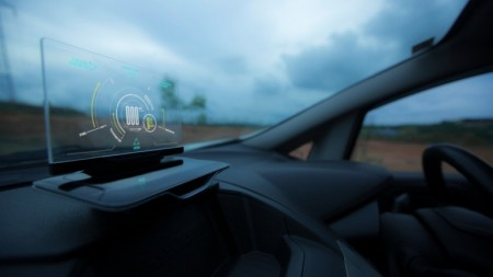 Exploride Head-up Display