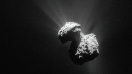 На комете Чурюмова-Герасименко обнаружен молекулярный кислород