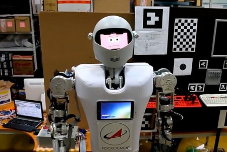Андронавт на МКС