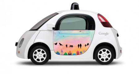 Робомобиль Google оштрафовали