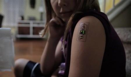 Татуировка, контролирующая состояние здоровья