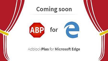 Microsoft Edge получит поддержку Adblock Plus
