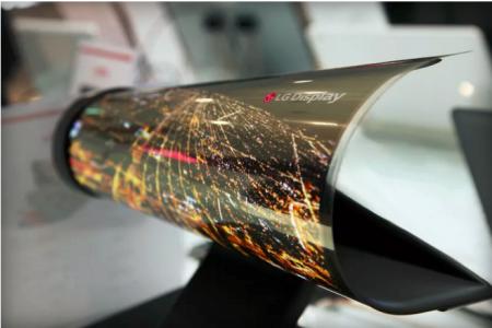 Гибкая панель от LG Display
