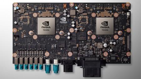 Nvidia представила суперкомпьютер для умных автомобилей