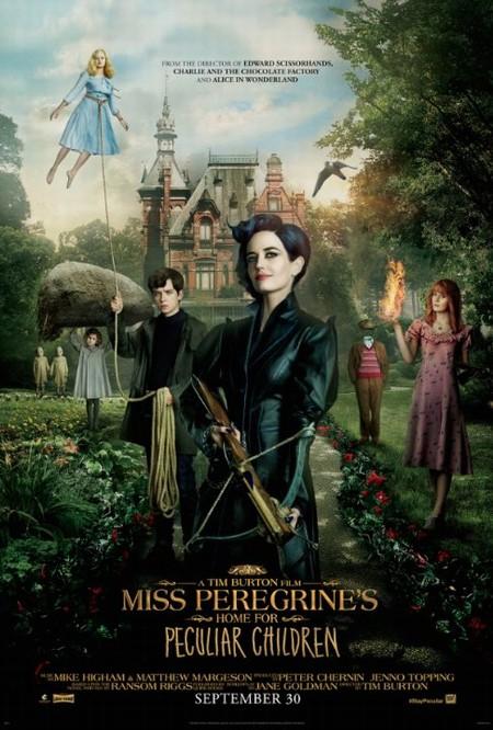 Дом для странных детей мисс Перегрин / Miss Peregrine's Home for Peculiar Children