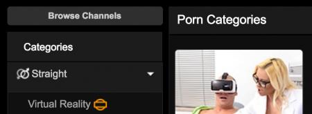 PornHub добавил категорию виртуальной реальности