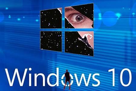 Как Windows 10 следит за мной?