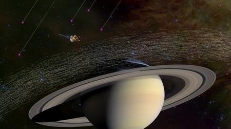 Около Сатурна обнаружена межзвёздная пыль