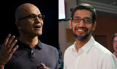 Microsoft и Google отказались от исков против друг друга