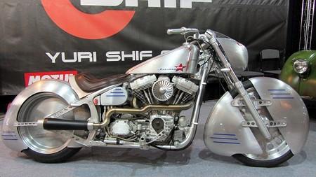 Белорусская мастерская «Yuri Shif Custom» - мотоцикл «Юрий Гагарин»