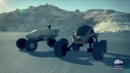 DARPA заказало разработку футуристических боевых машин