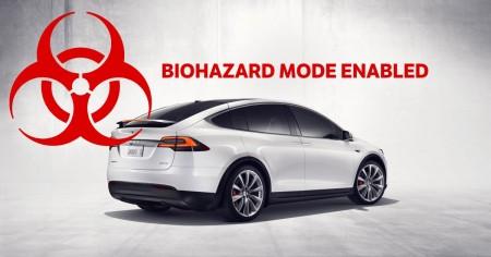 Электромобили Tesla справляются с очисткой воздуха в салоне за пару минут