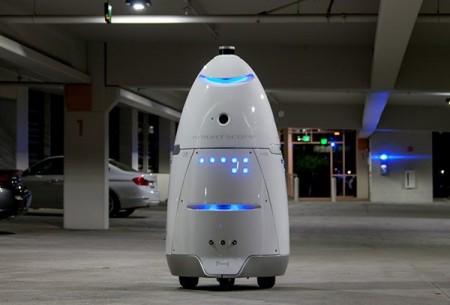 В калифорнийском торговом центре начал дежурить робот-полицейский