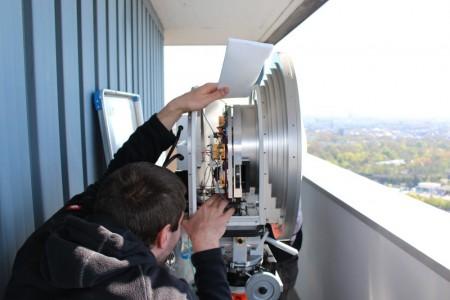 Мировой рекорд беспроводной передачи данных