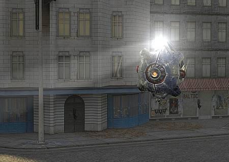 Российский поклонник Half-Life 2 собрал знаменитый летающий сканер