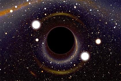 Жидкие кольца вокруг черных дыр