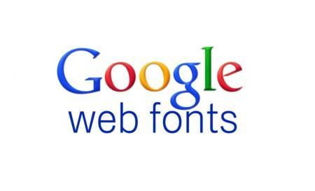 Новый Google Fonts