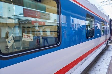 """Новый международный поезд """"Стриж/Strizh"""" Москва - Берлин"""