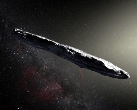 Межзвездный астероид Оумуаму