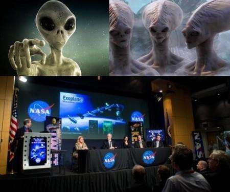 Первая в истории пресс-конференция с представителем прародителей человечества