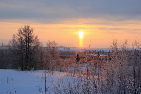 Тундра Февраль 2018 - Солнце