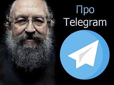 Анатолий Вассерман - Про Telegram