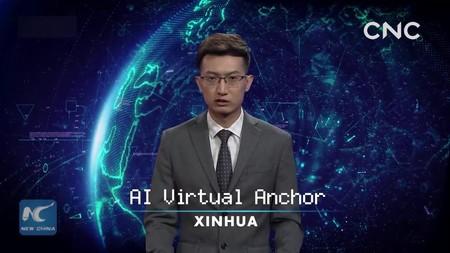 Первый искусственный телеведущий в Китае