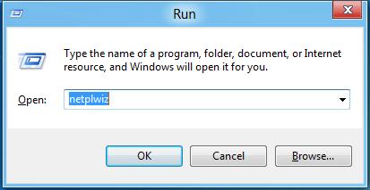 Удаляем пароль на вход Windows 8 (netplwiz)