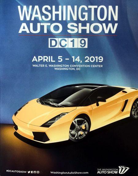 Авто шоу Вашингтон 2019