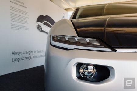 Lightyear One: «убийца Tesla» на солнечных панелях