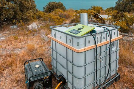 В Крыму ученые начали испытания установки для сбора воды из воздуха