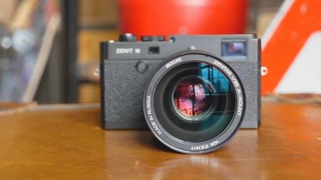 Обзор камеры Зенит М (Zenit M) с объективом Зенитар 35mm f/1.0
