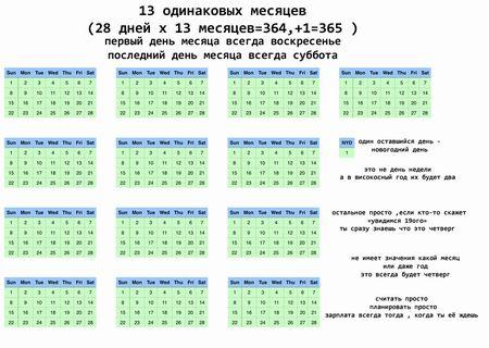 Новый календарь