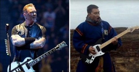 "Фанат Metallica исполнил песню ""Hardwired"" на Ненецком языке"